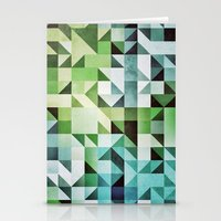 :: geometric maze II :: Stationery Cards