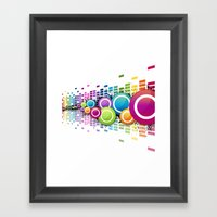 Get Freaky With Me! Framed Art Print