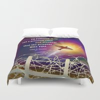 Set Free Duvet Cover