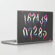 Numbers! Grey Laptop & iPad Skin