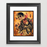 Japanese Ghost Framed Art Print