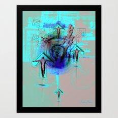 Spiritual Gravity 0.2 Art Print