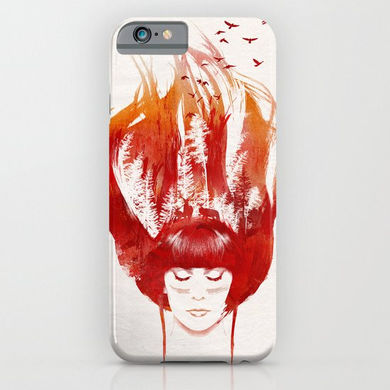 Burning Forest iPhone & iPod Case