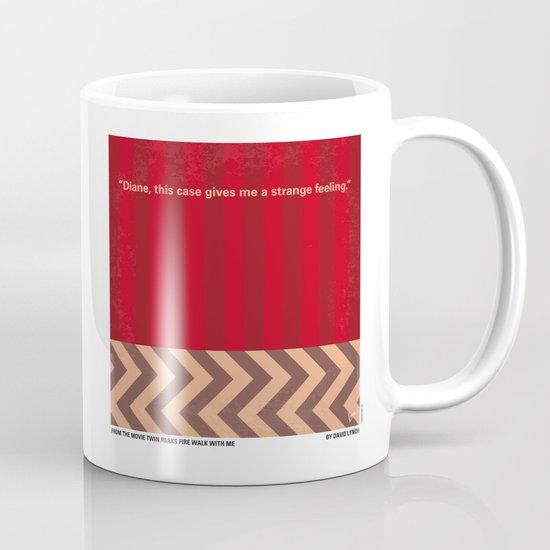 No169 My Twin Peaks minimal movie poster Mug