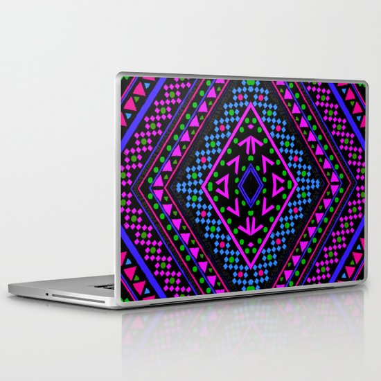 NEON PATTERN Laptop & iPad Skin