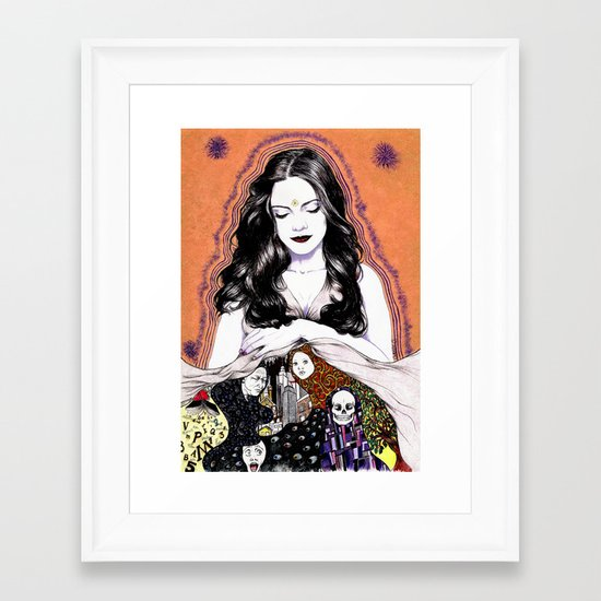 INSPIRATION - Muse Framed Art Print