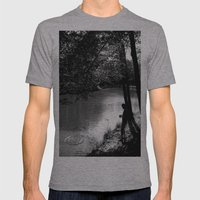 Wish upon a stone Mens Fitted Tee Athletic Grey SMALL