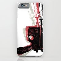 iPhone & iPod Case featuring Blaster (Left) by Department M