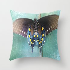 There Is Beauty In Death Throw Pillow