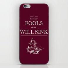 Millstone iPhone & iPod Skin