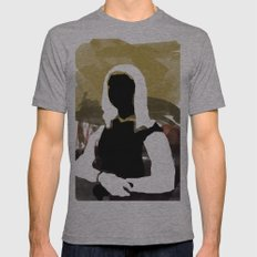Mona Mens Fitted Tee Athletic Grey SMALL