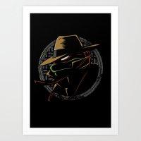 Undercover Ninja Raph Art Print