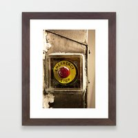EMERGENCY! Framed Art Print
