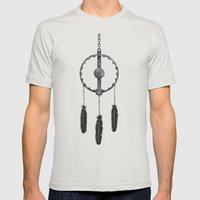 Dreamkiller Mens Fitted Tee Silver SMALL