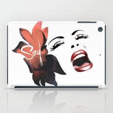 Bombshell Series: Song - Billie Holiday iPad Case
