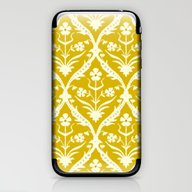 Tapish Trellis Ikat iPhone & iPod Skin