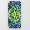 Tribal green iPhone & iPod Case