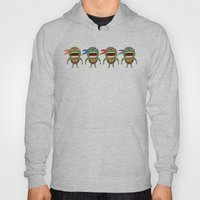 Screaming Turtles Hoody