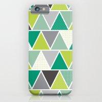 Triangulum - Emerald iPhone 6 Slim Case