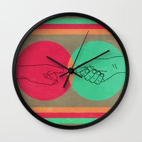 Pull your finger out  Wall Clock