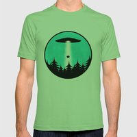 Picnic Mens Fitted Tee Grass SMALL