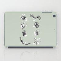 Botanica Letters | Pale Green iPad Case