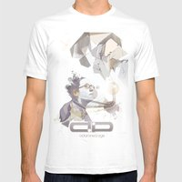 Adamned.age Artist Poste… Mens Fitted Tee White SMALL