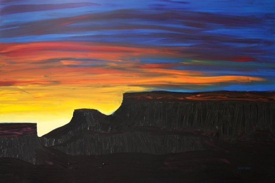 Grand Mesa Sunrise Art Print