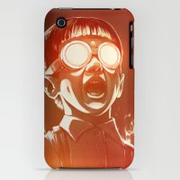 iPhone 3Gs & iPhone 3G Cases featuring FIREEE! by Dr. Lukas Brezak