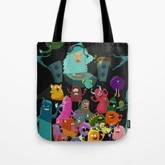 The mezcal monsters Tote Bag