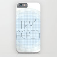 iPhone & iPod Case featuring Try Try Try Again by Carley Lee