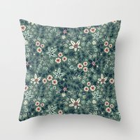 Earth Garden Throw Pillow