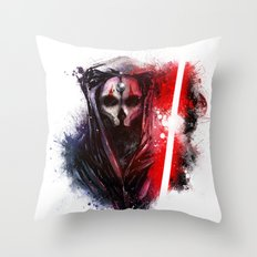 Darth Nihilus Throw Pillow