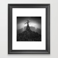 NoBody : Root In Framed Art Print