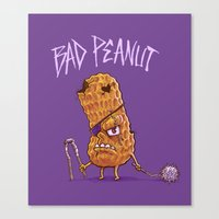 Bad Peanut Canvas Print