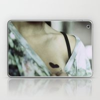 She Wore Her Heart For Everyone To See Laptop & iPad Skin