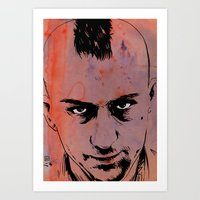 Travis Bickle Taxi Driver Art Print