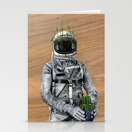 Cacti | Spaceman No:1 Stationery Card