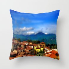 Barga, Italy Throw Pillow