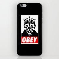 Obey Darth Maul - Star Wars iPhone & iPod Skin
