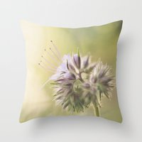 Phacelia Throw Pillow