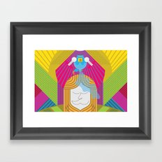 Anointed for Burial (by Anne Ulku) Framed Art Print
