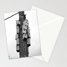 cozy neighborhood Stationery Cards