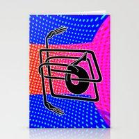 Noodle (blue) Stationery Cards