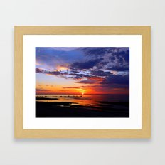 Between Sky and Earth Framed Art Print