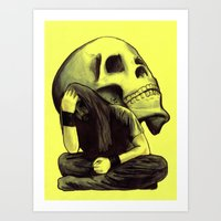 Alone and Forsaken By Fate and By Man Art Print