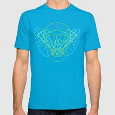 Material Mens Fitted Tee Teal SMALL