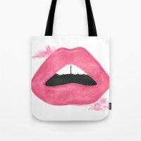 Read My Lips Tote Bag