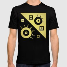 sunshine Black SMALL Mens Fitted Tee