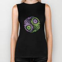 Zombie Yin-Yang Biker Tank
